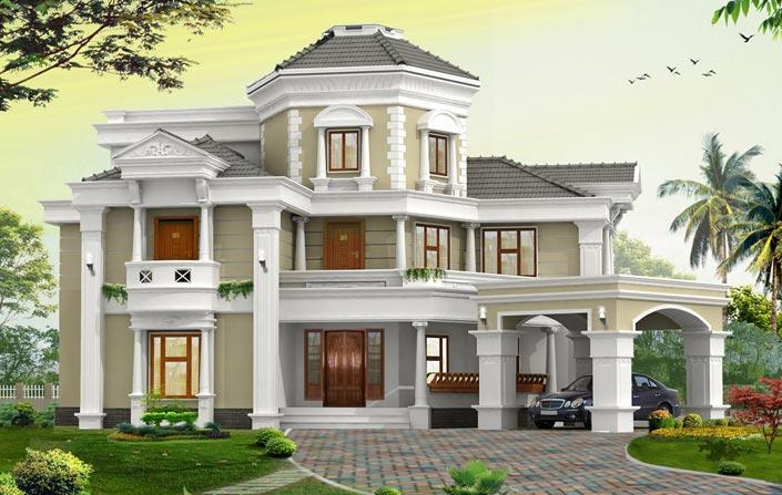 واجهات جميلة من المنازل