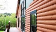 Сайдинг Блок Хаус с имитацией бревна – современная альтернатива деревянному фасаду