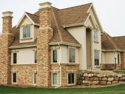 Использование камня в облицовке фасадов