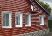Характеристики и особенности монтажа металлического блок-хауса