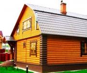 Способы отделки фасадов деревянного дома