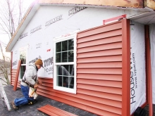 Секреты облицовки фасадов виниловым сайдингом
