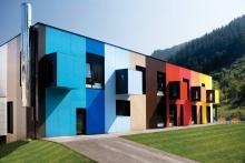 Цветовое решение фасадов: принципы цветового оформления зданий