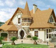 Красивые фасады домов с отделкой из современных материалов