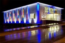 Художественная подсветка зданий и прилегающей территории