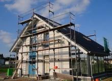 Особенности ремонтных работ на фасаде частного дома