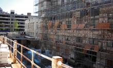 Ремонт фасадов: причины и варианты решений