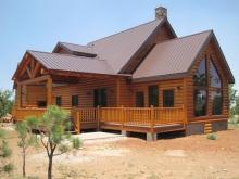 Блок Хаус с имитацией натуральной древесины: кусочек природы в каменных джунглях