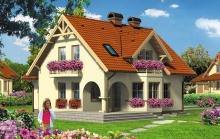 Облицовка фасадов домов с мансардой: обзор популярных вариантов
