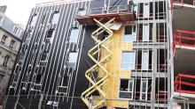 Штукатурный фасад Изовер: всё об утеплителе