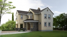 Мокрый фасад: современный утеплитель для дома