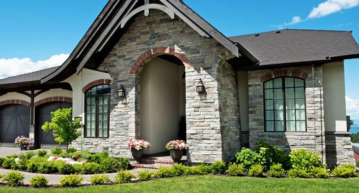 Материал для отделки фасадов дачного дома