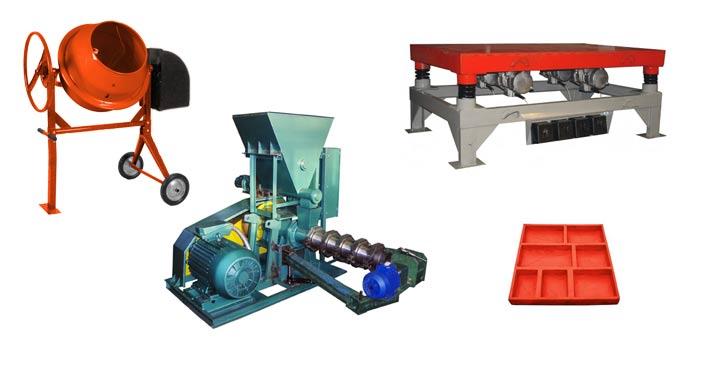 Оборудование, необходимое для изготовления фасадной плитки