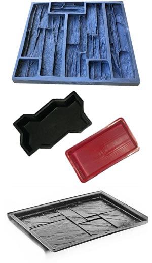 Примеры форм для производства плитки