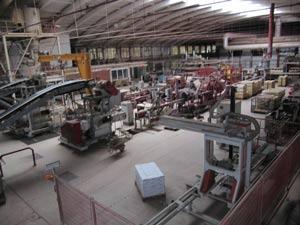 Производственный цех по изготовлению фасадной плитки