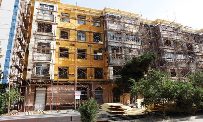 Цвет фасада многоквартирного дома