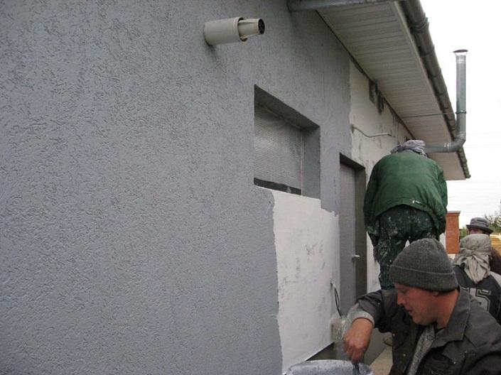 Цены на штукатурку стен фасада в спб